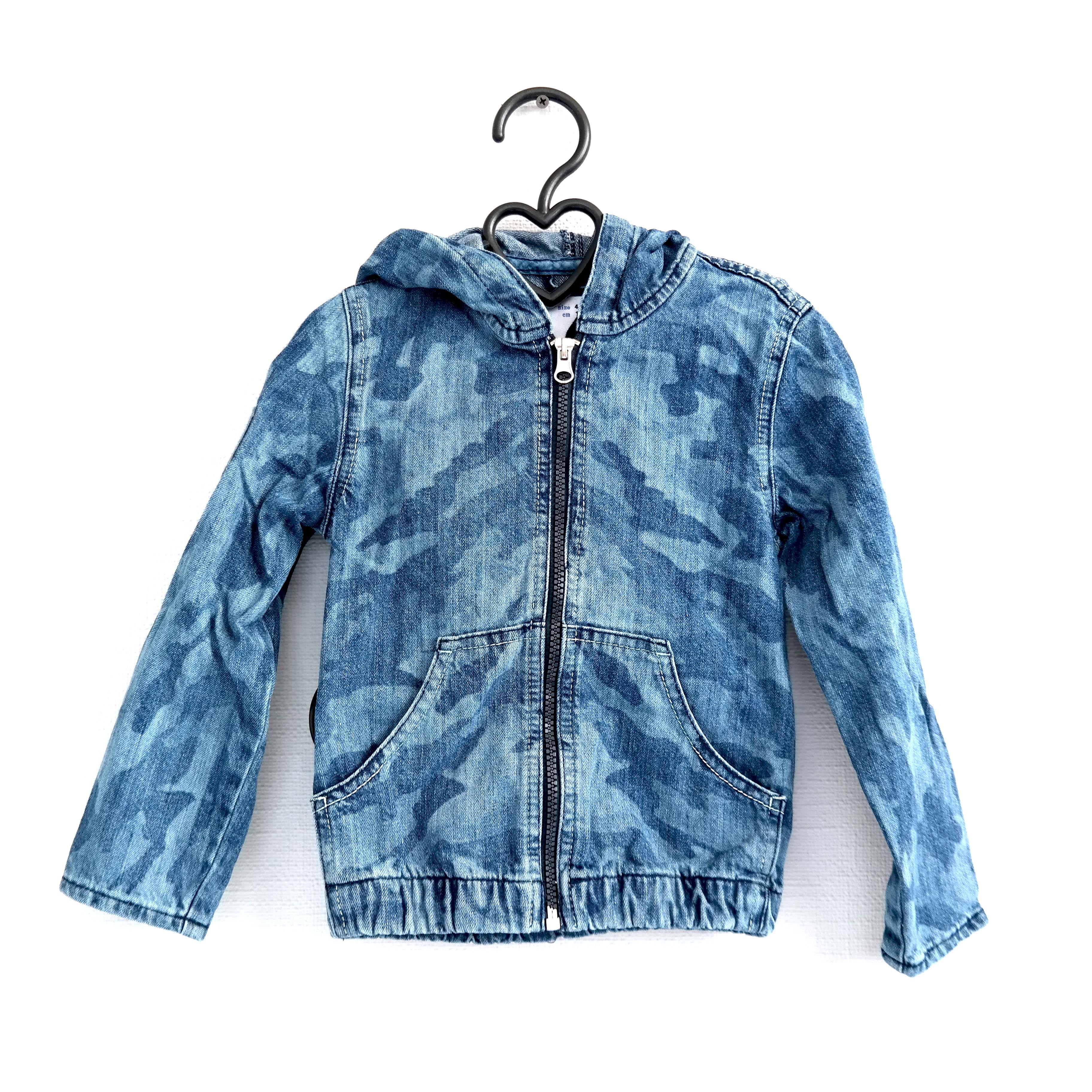 Детская джинсовая куртка (для девочек) в Челябинске