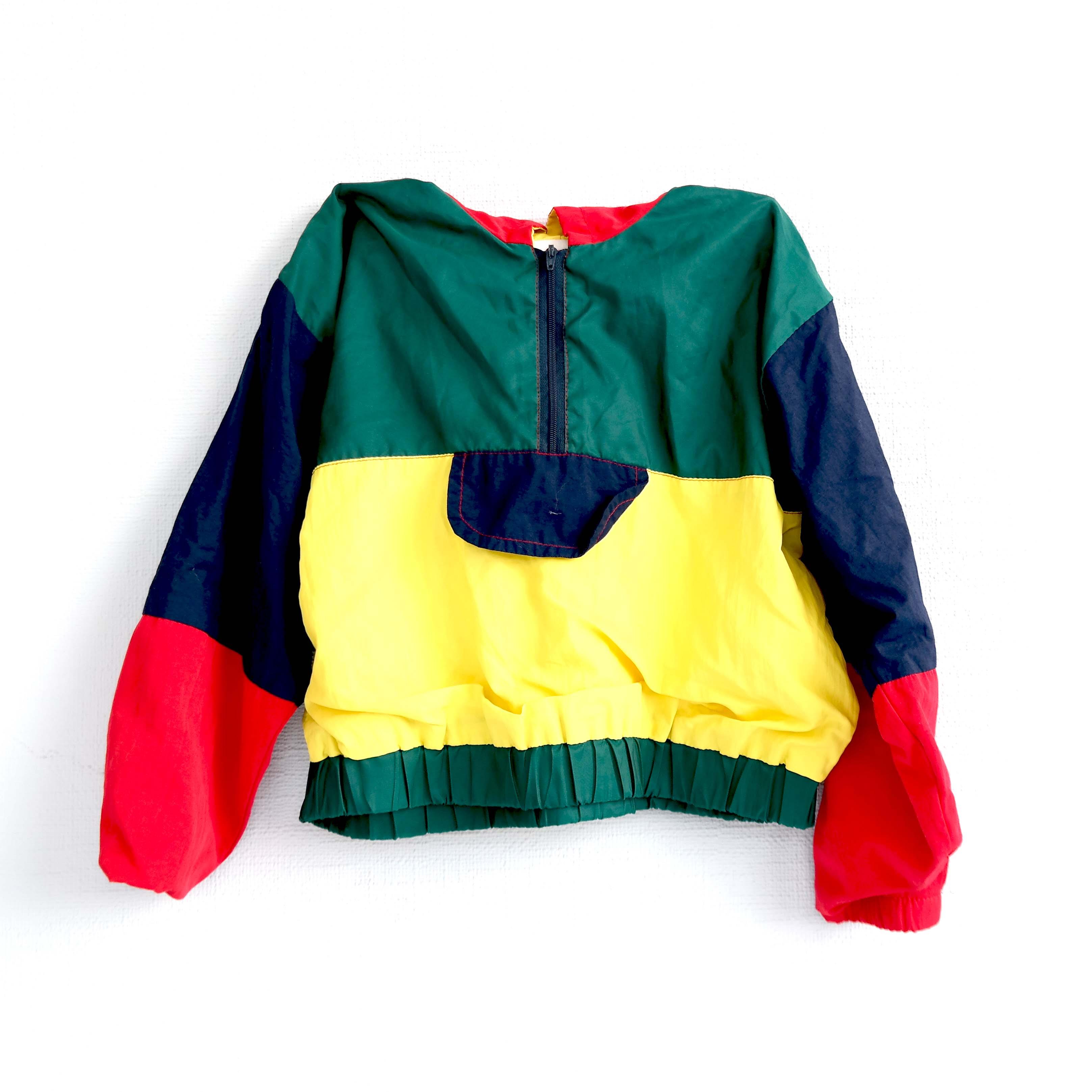 Детская куртка (для мальчиков) желтая с синим и красным в Самаре
