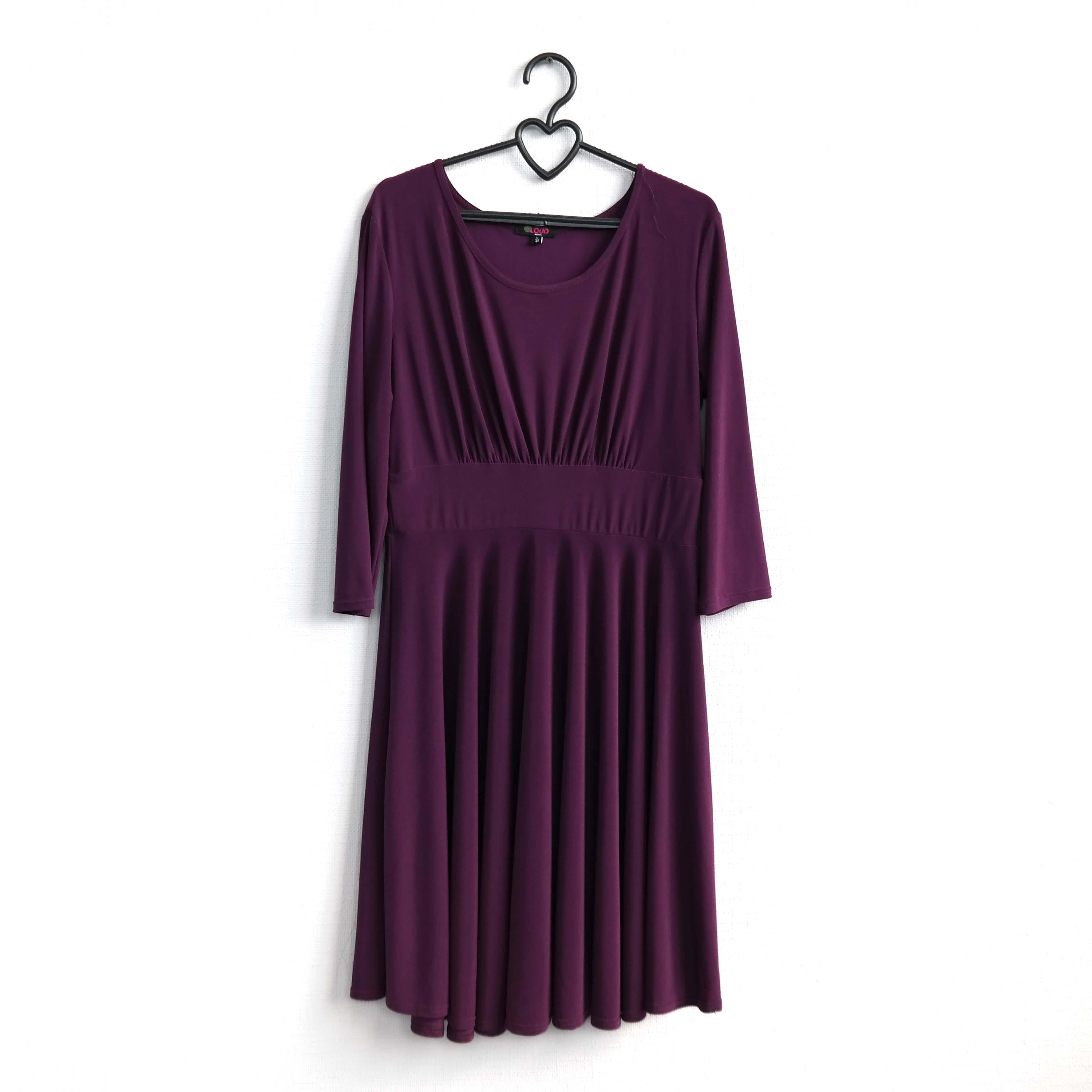 Платье женское фиолетовое в Москве