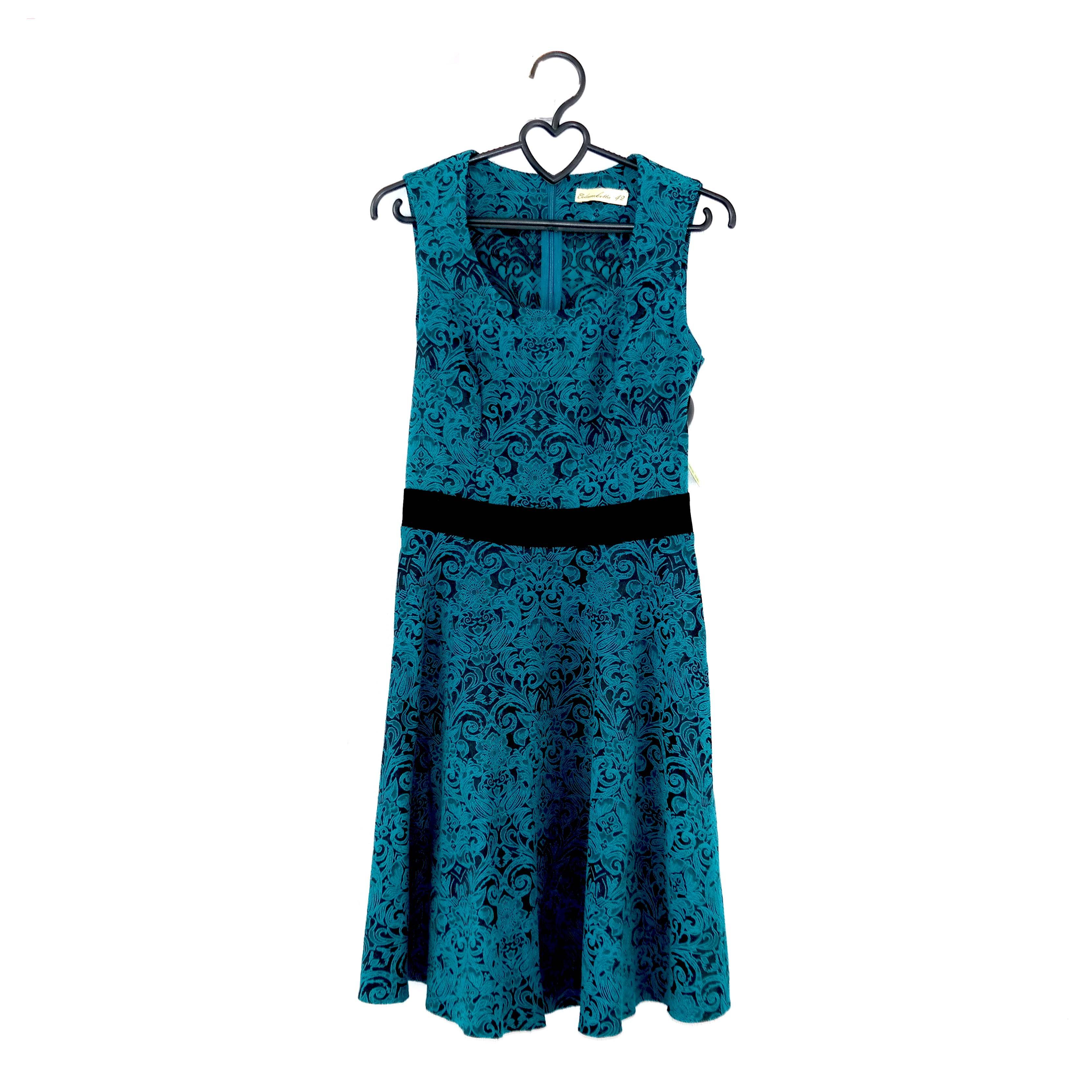 Платье женское, бирюзовое в Челябинске