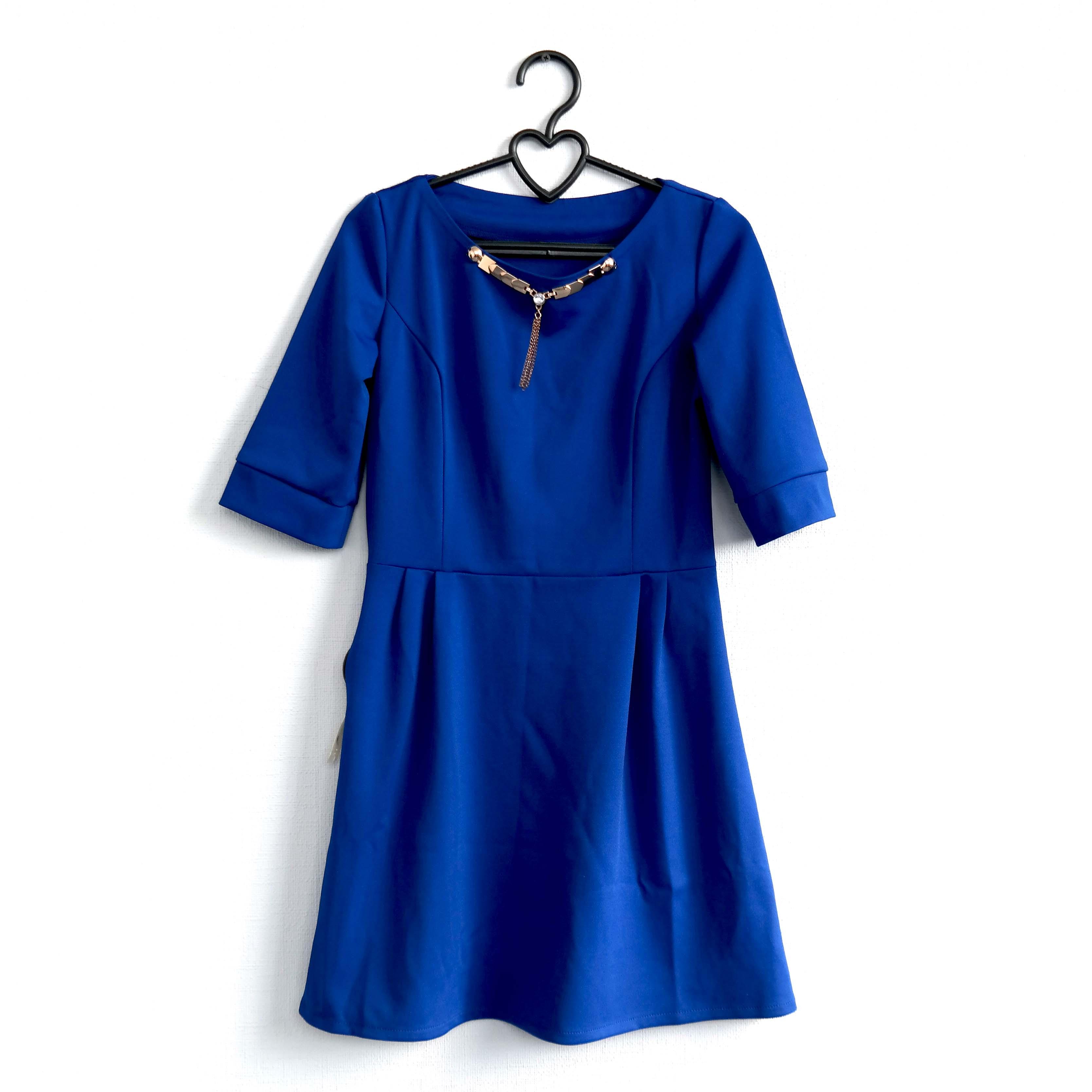Платье женское, синее в Москве