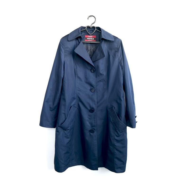 Пальто женское, синее в Челябинске