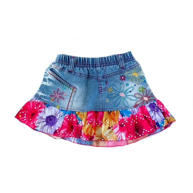 Детская джинсовая юбка в Москве