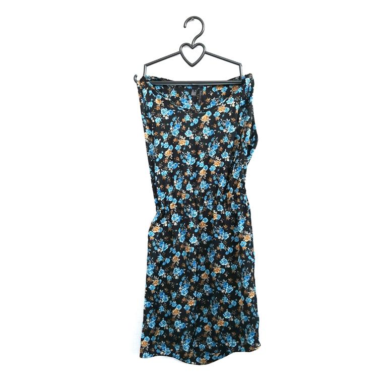 Легкое женское платье с цветочным принтом  в Москве