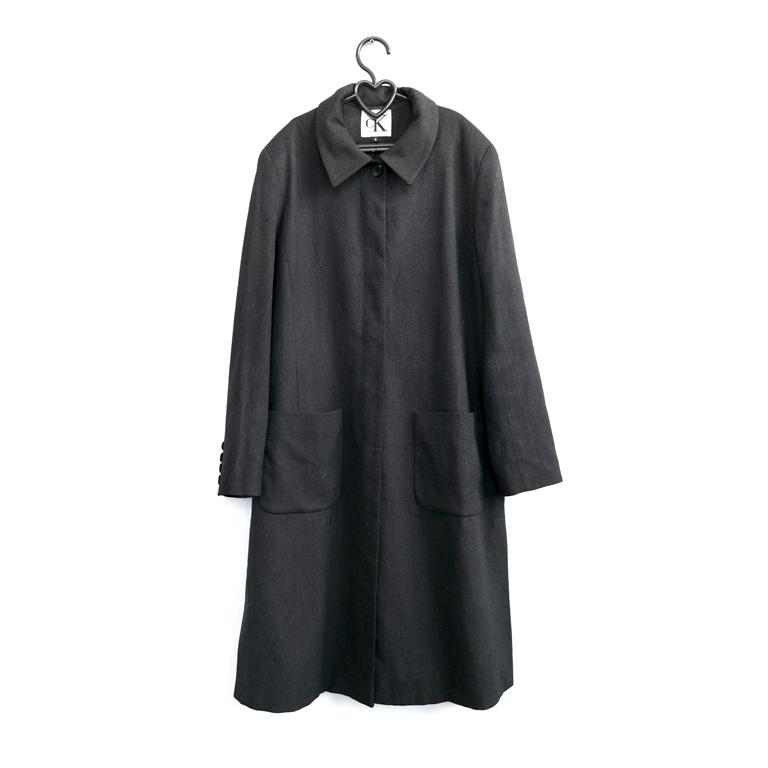 Длинное женское пальто серое в Москве