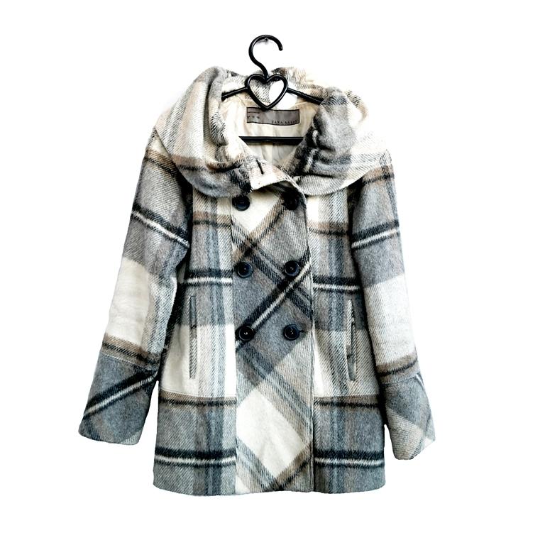 Женское пальто клетчатое в Челябинске