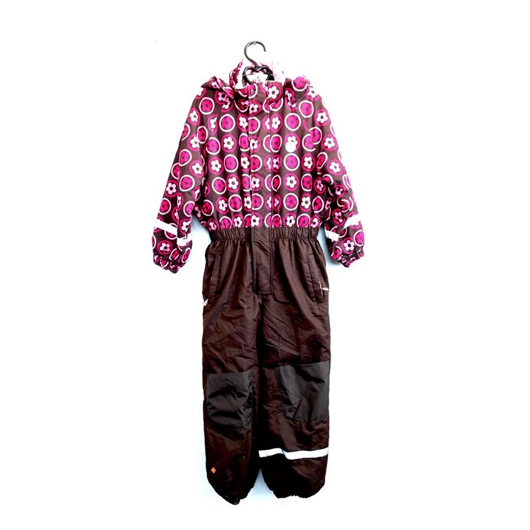 Детский комбинезон розовый с коричневым в Челябинске