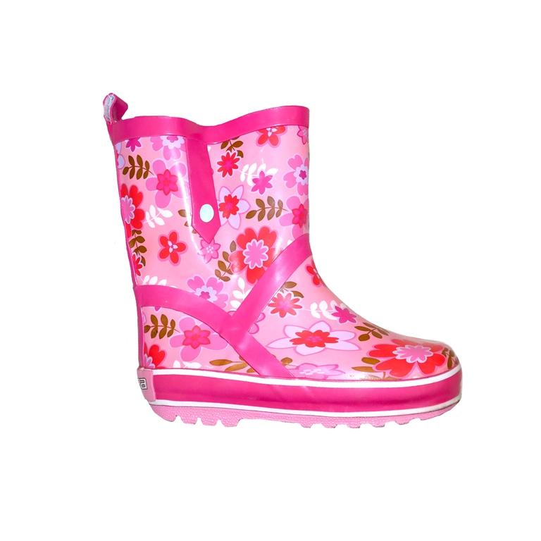 Детские резиновые сапоги розовые в Челябинске