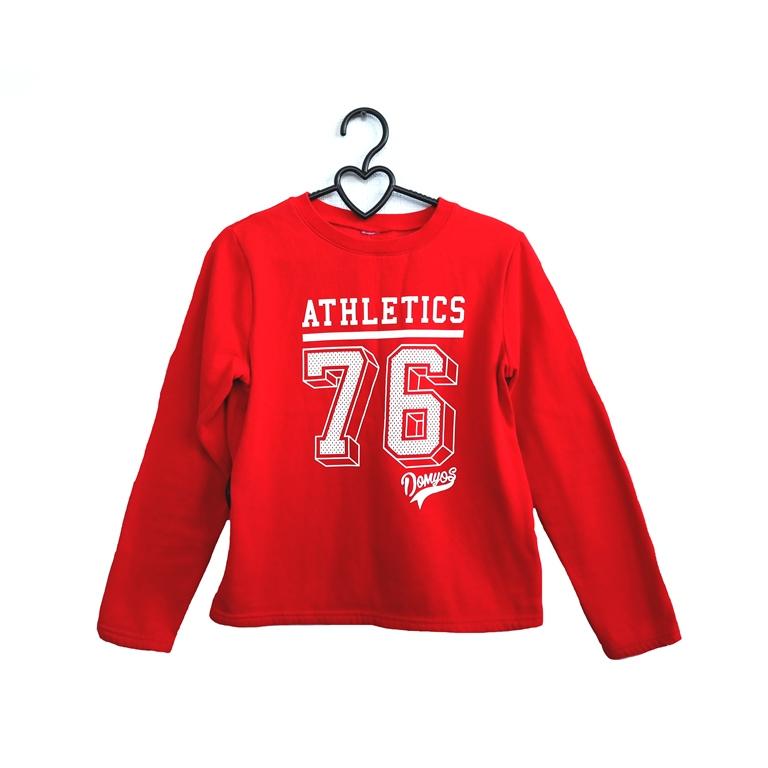 Детская кофта красная Athletics 76 в Москве