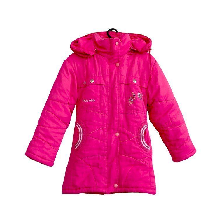 Детская куртка розовая с карманами в Челябинске