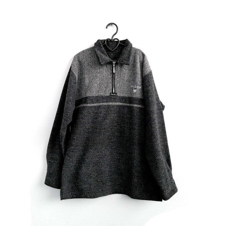 Пуловер мужской черно-серый в Челябинске