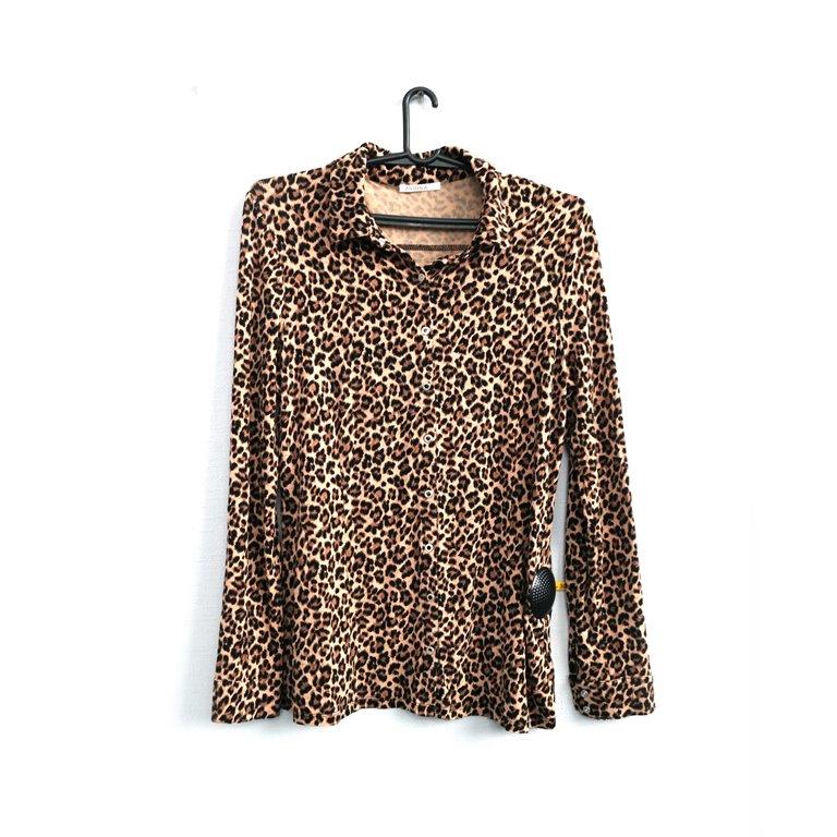Блуза женская с леопардовым принтом в Челябинске