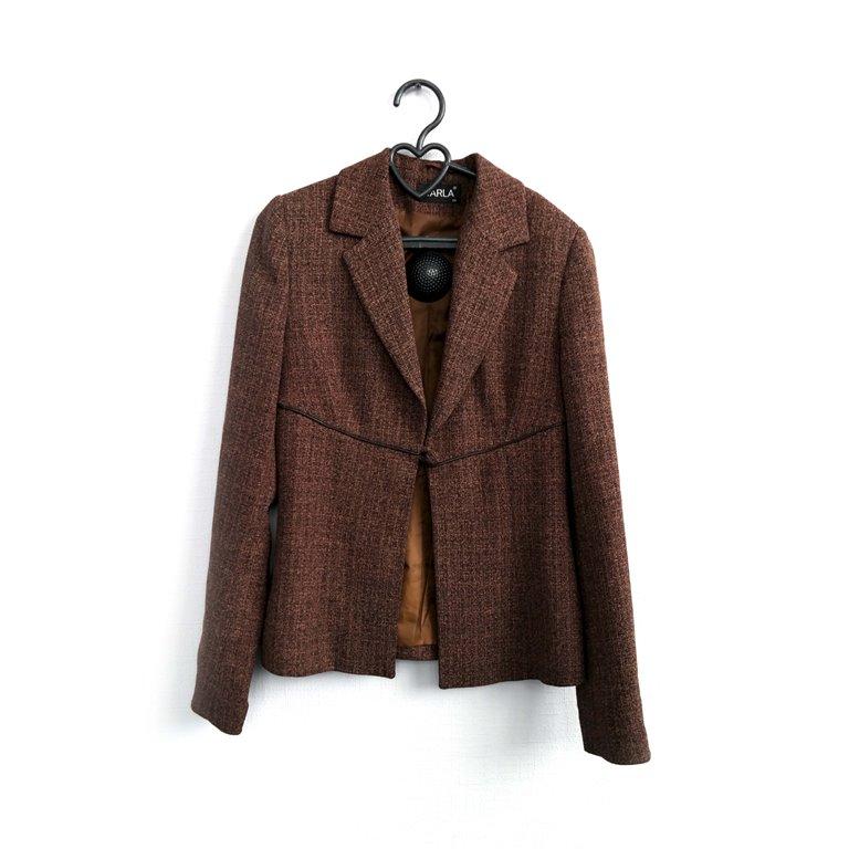 Пиджак женский коричневый в Челябинске