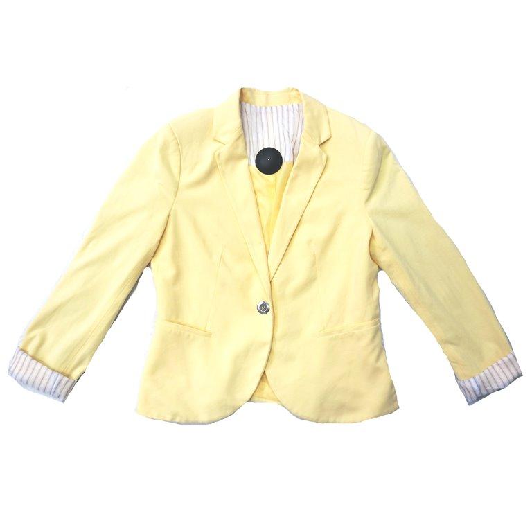 Желтый женский пиджак в Челябинске