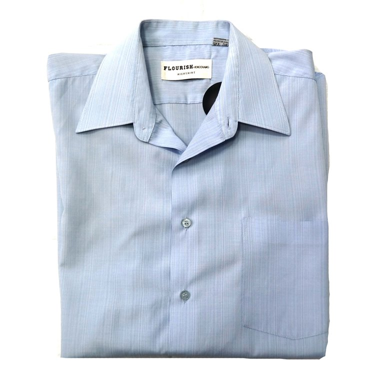 Голубая мужская рубашка в Москве