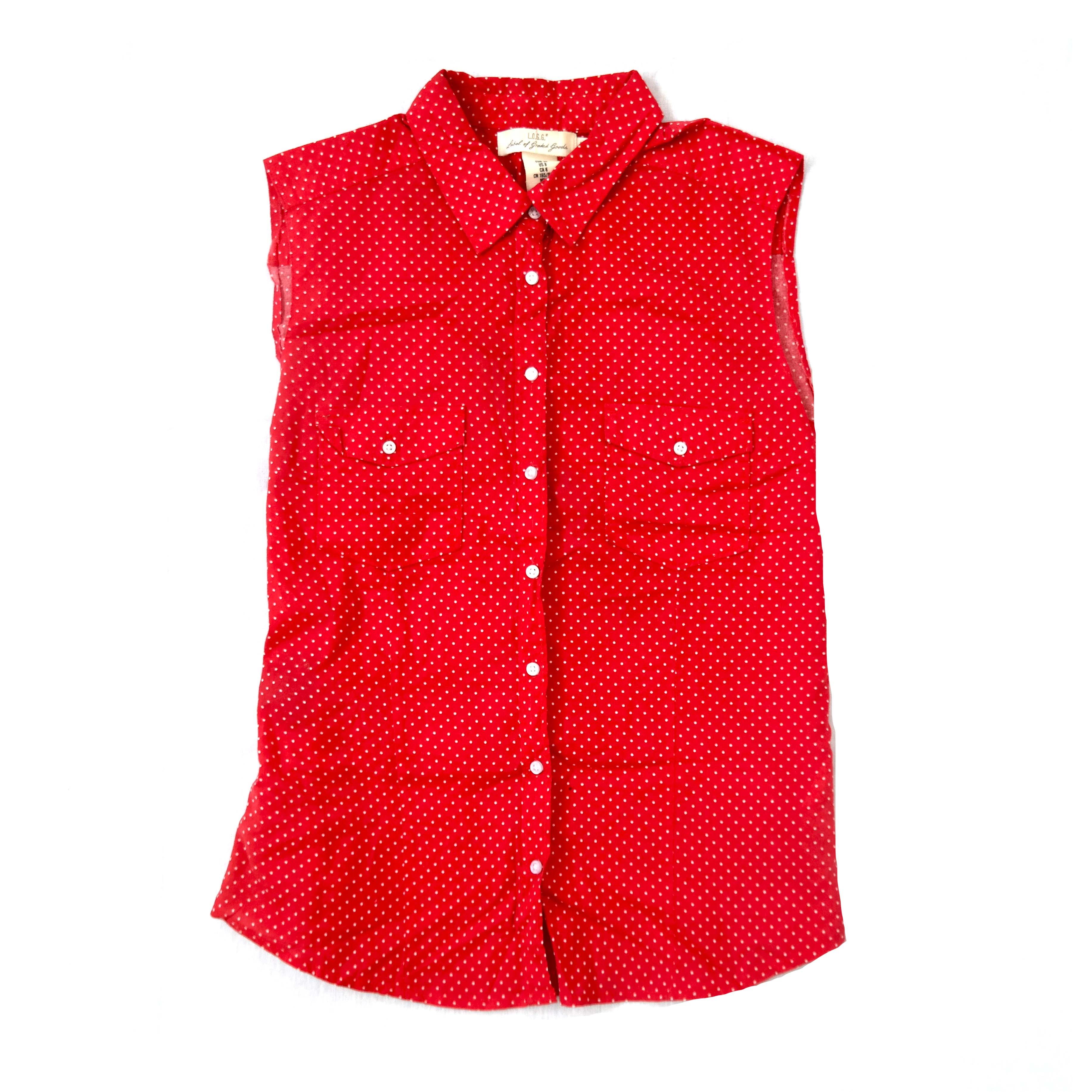 Красная женская рубашка в Челябинске