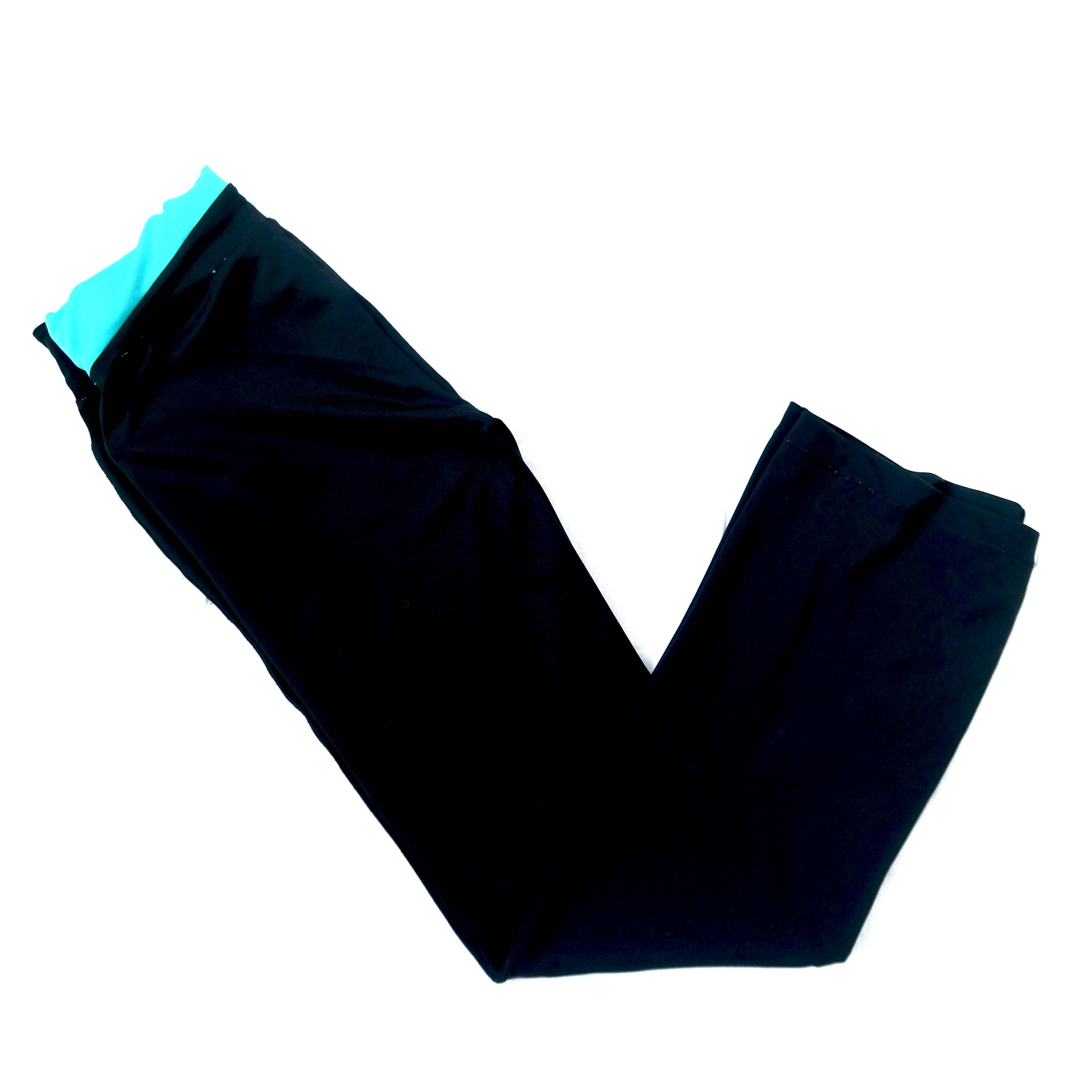 Спортивные женские брюки с голубым поясом в Москве