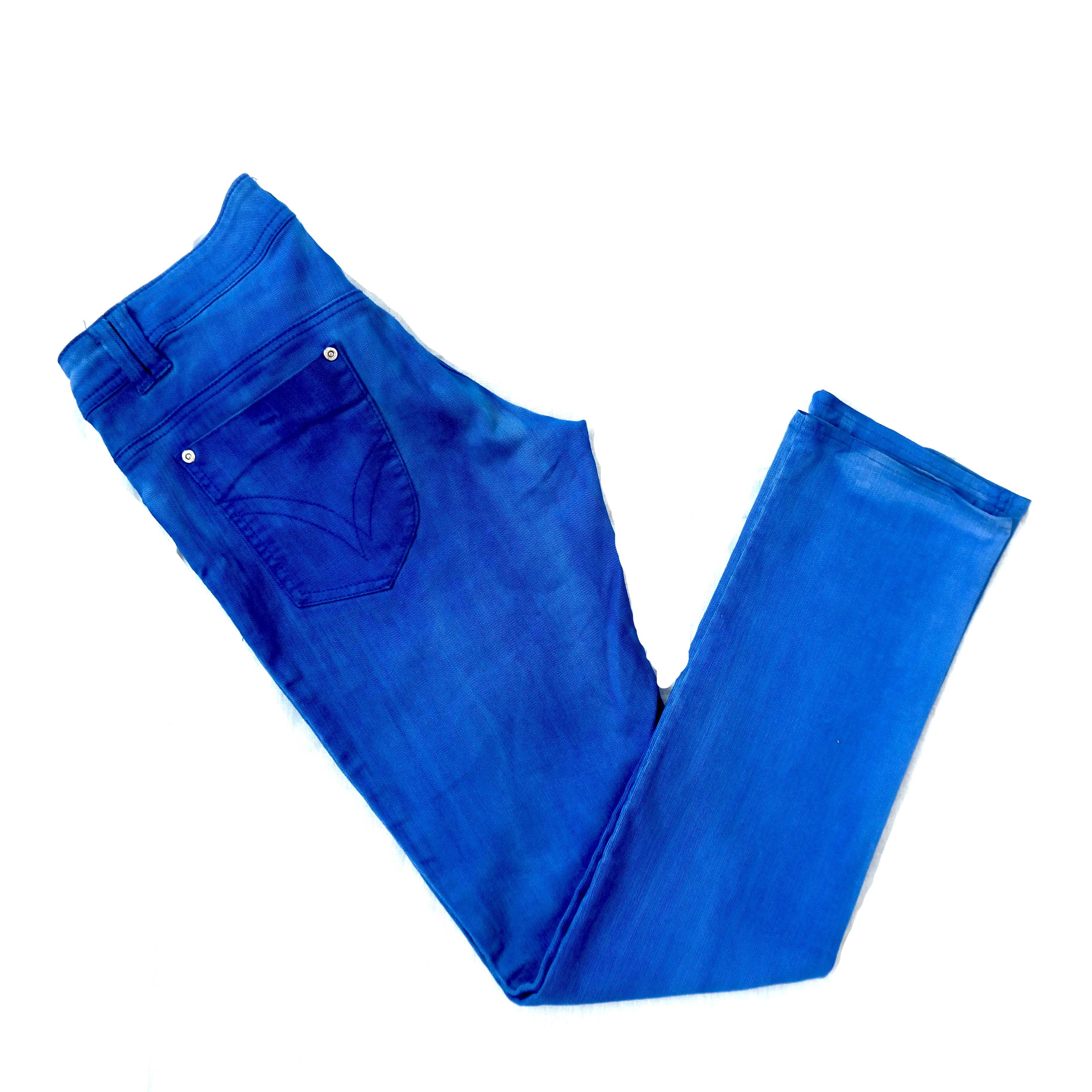 Синие женские джинсы в Москве