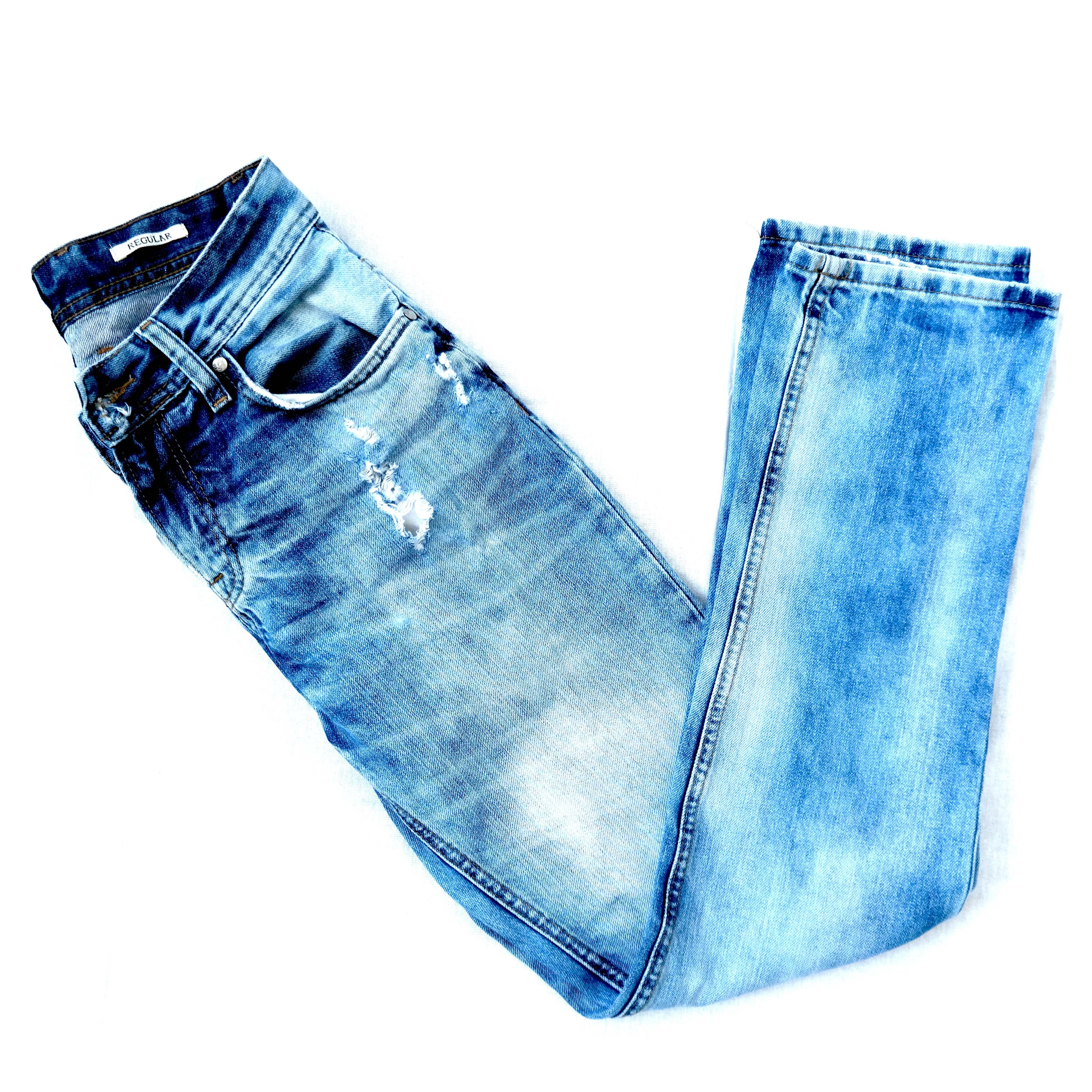 Рваные мужские джинсы в Москве