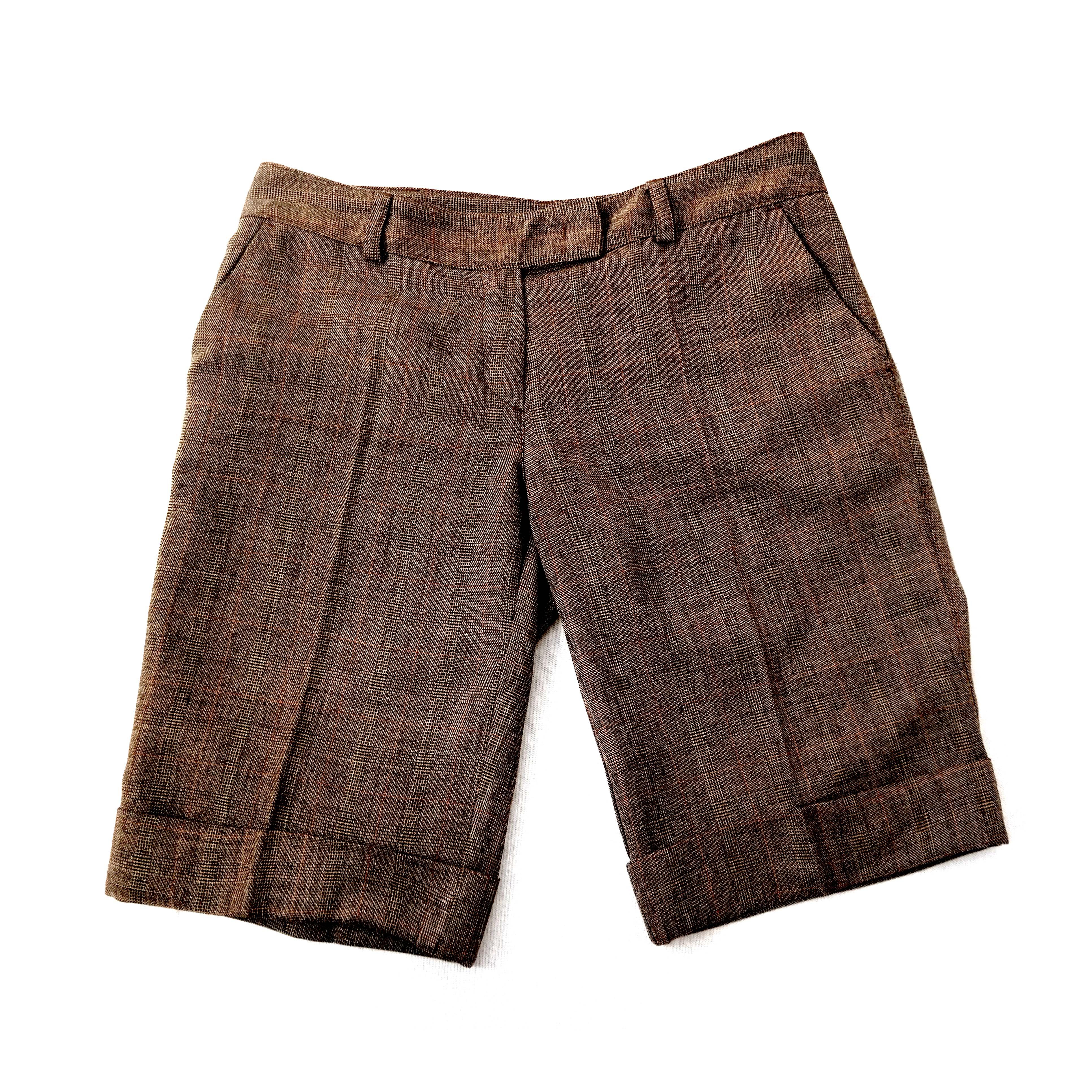 Женские коричневые шорты в Челябинске