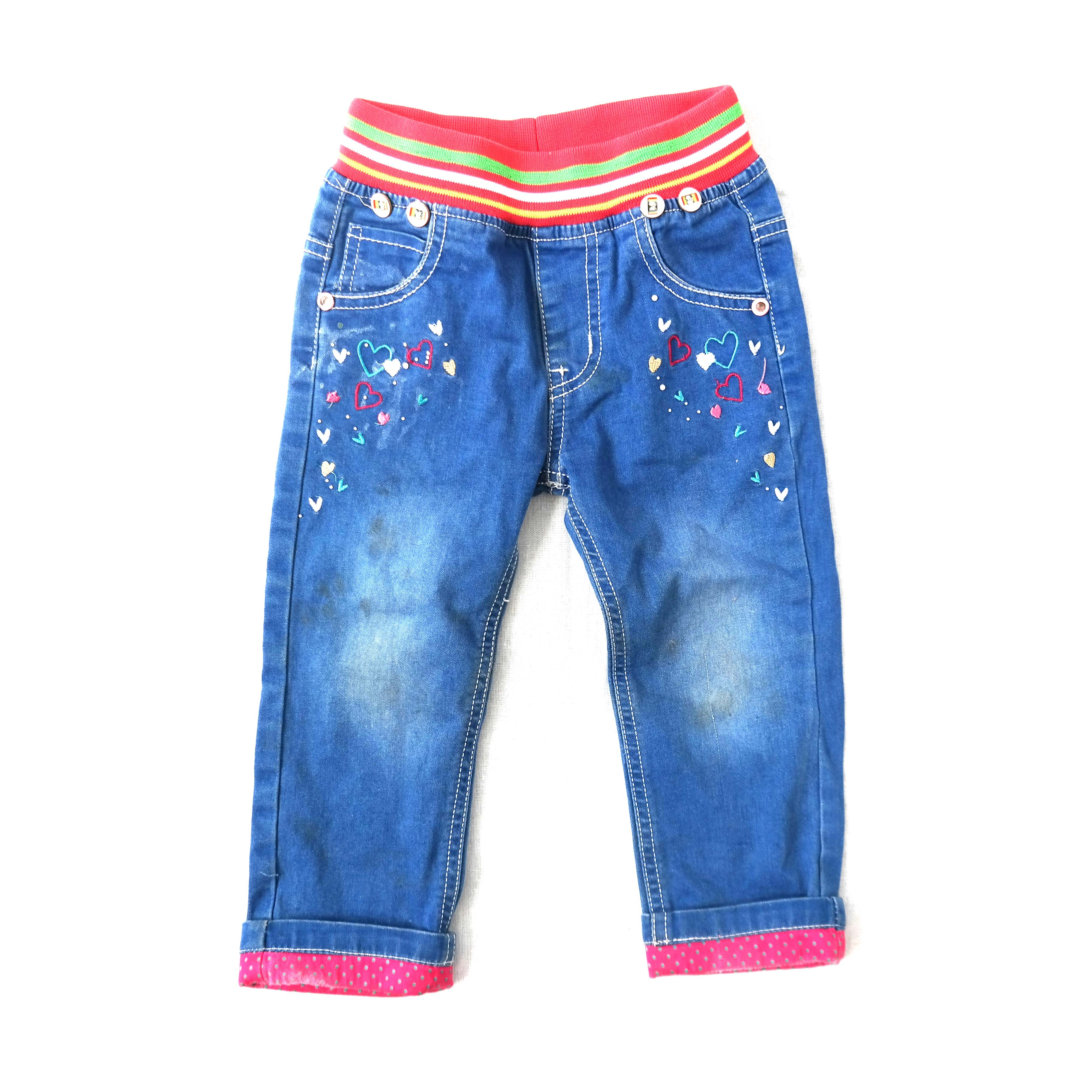 Детские джинсы для девочек в Москве
