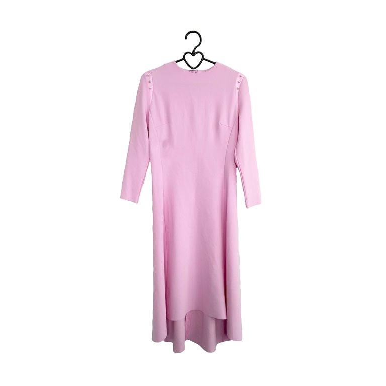 Женское платье розовое с пуговицами в Челябинске