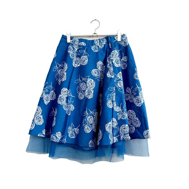 Пышная юбка-пачка синяя в Москве
