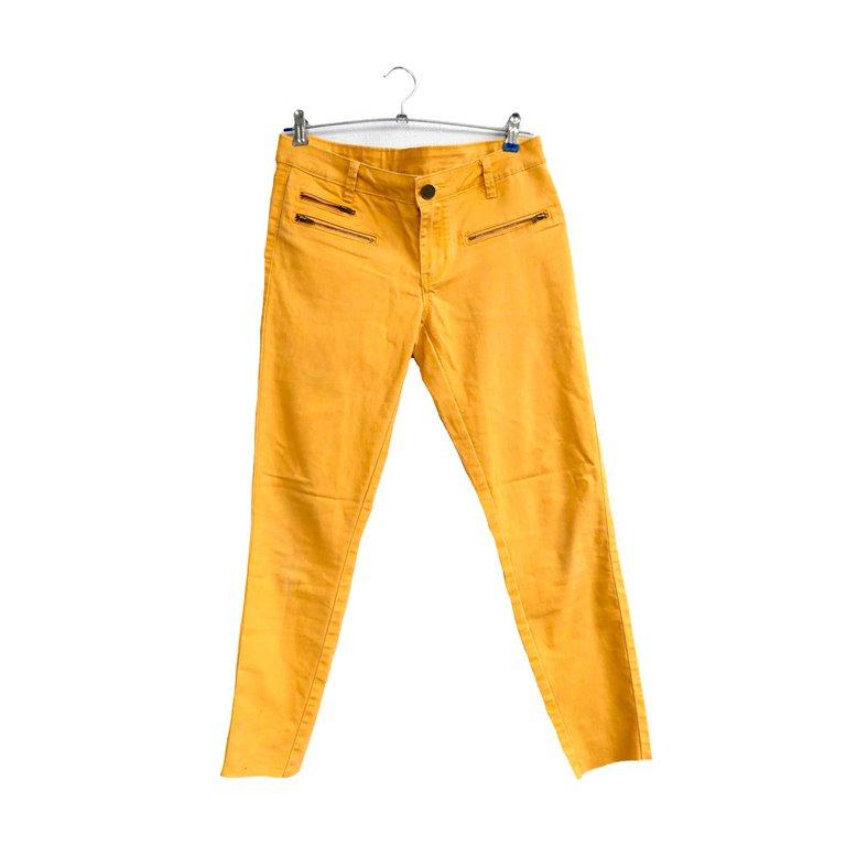 Лимонные женские брюки в Челябинске