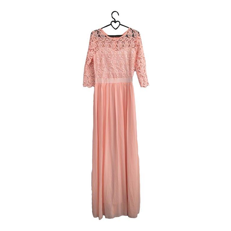 Длинное вечернее платье розовое в Челябинске
