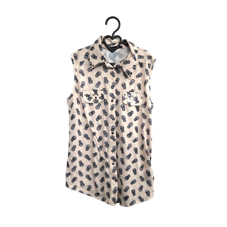 Женская блуза в горошек в Челябинске