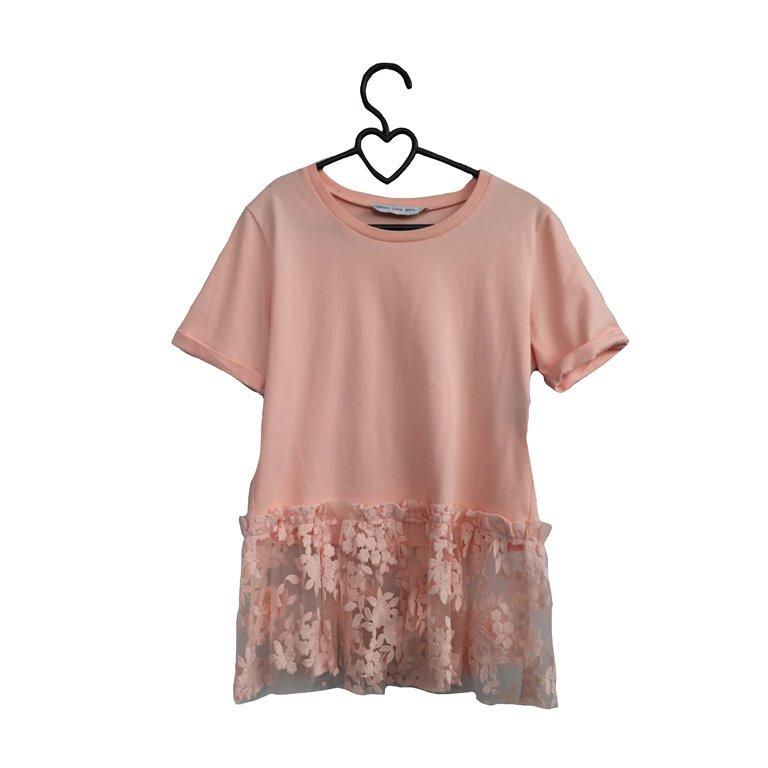 Женская блуза розовая в Москве
