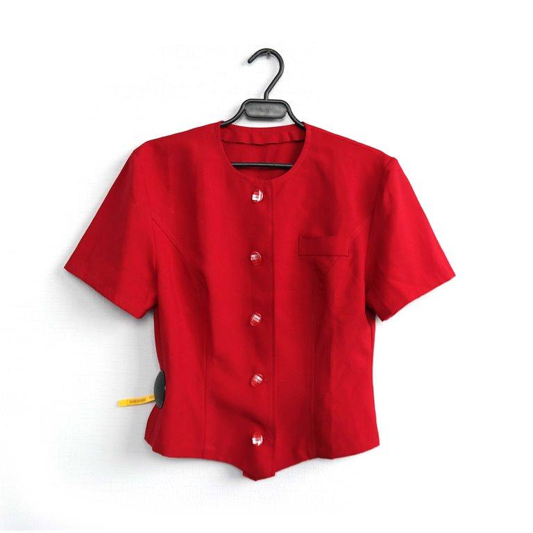 Женская красная блуза в Челябинске