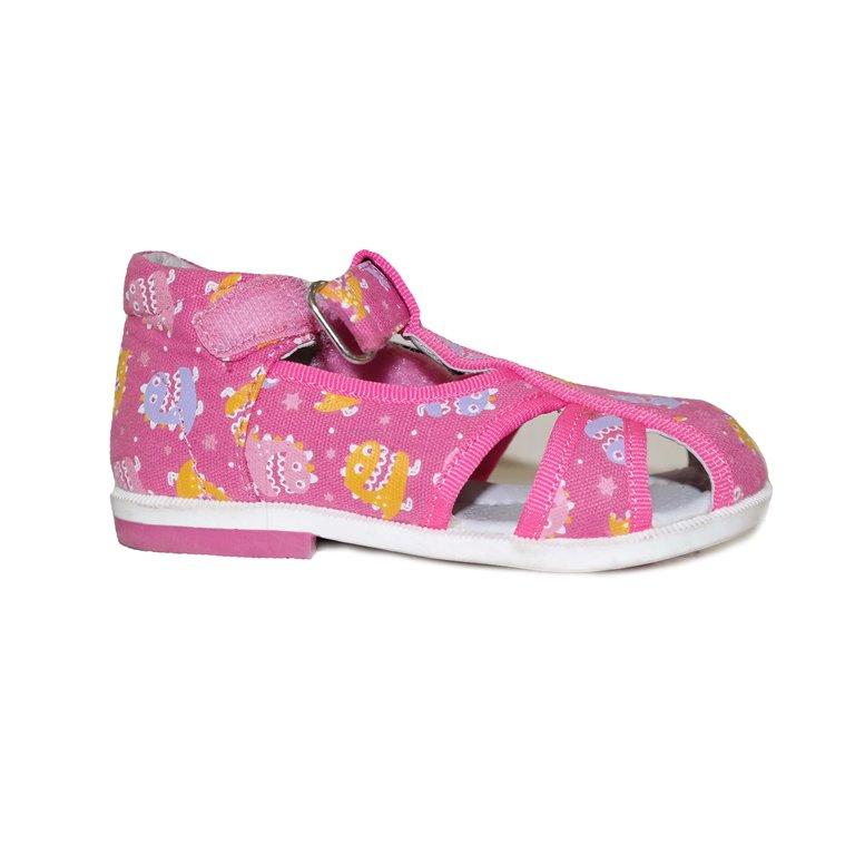 Детские сандалии розовые в Челябинске