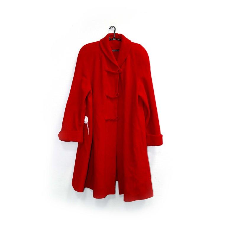 Пальто женское красное в Челябинске