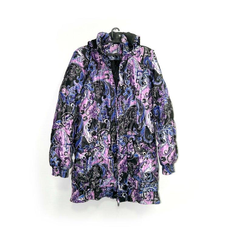 Куртка женская розовая с фиолетовым в Челябинске