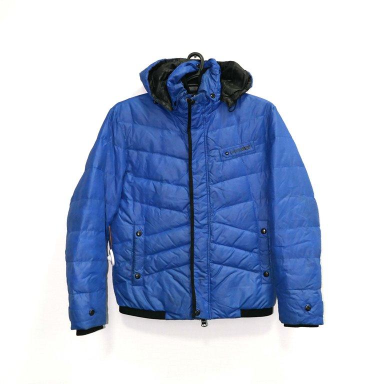 Куртка дутая синяя мужская в Москве