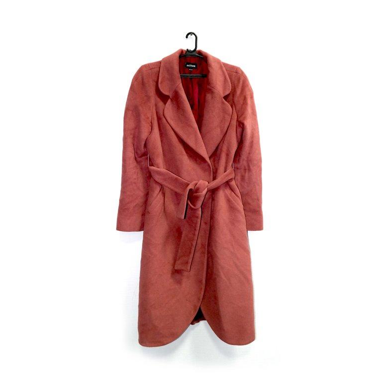 Пальто женское терракотового цвета в Челябинске