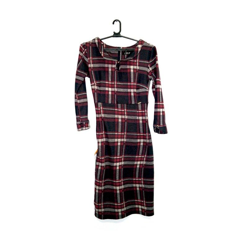 Платье женское теплое клетчатое в Челябинске