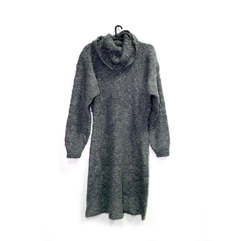 Женское платье теплое серое в Челябинске