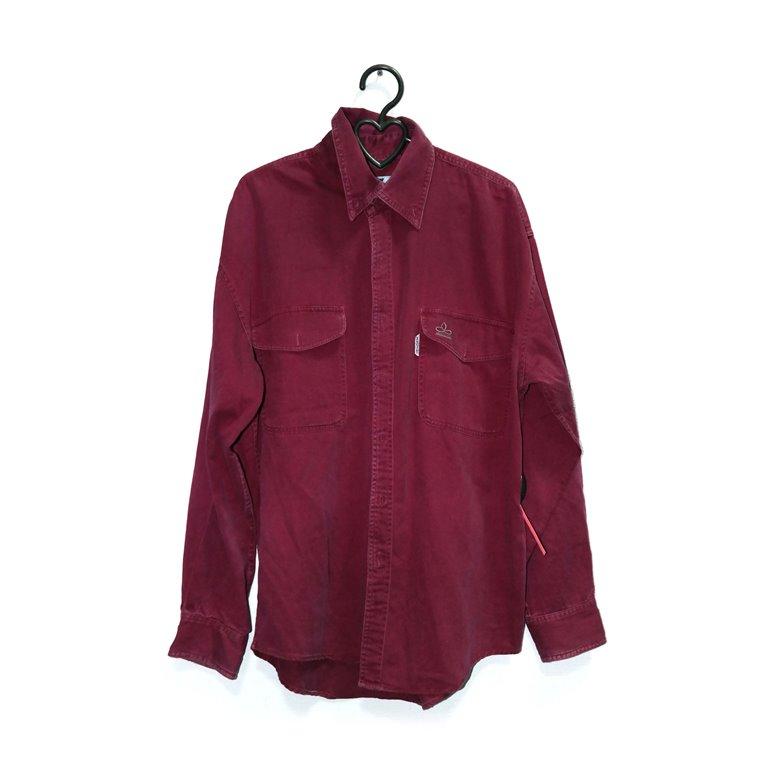 Рубашка бордовая мужская в Челябинске