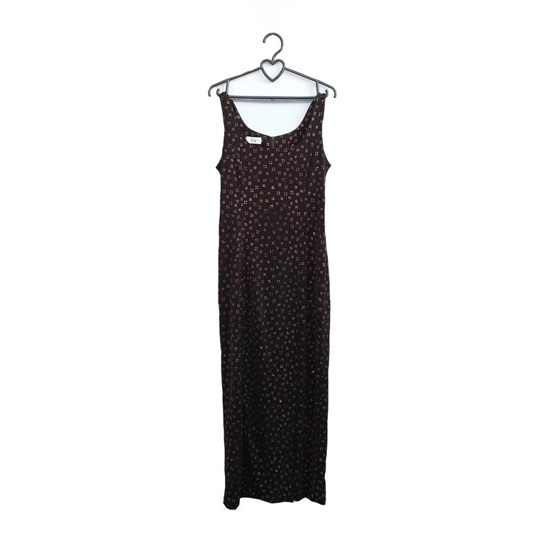 Женское длинное платье черное в Москве