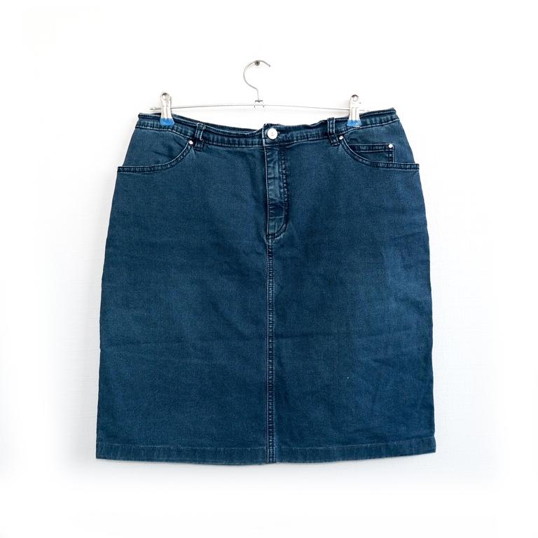Юбка мини женская джинсовая в Челябинске