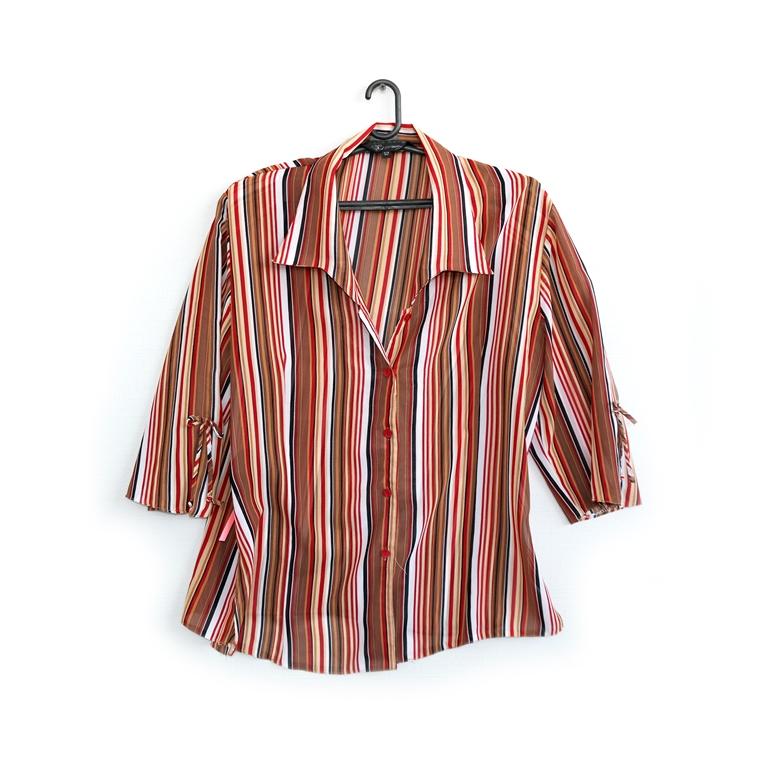 Женская рубашка в полоску в Челябинске