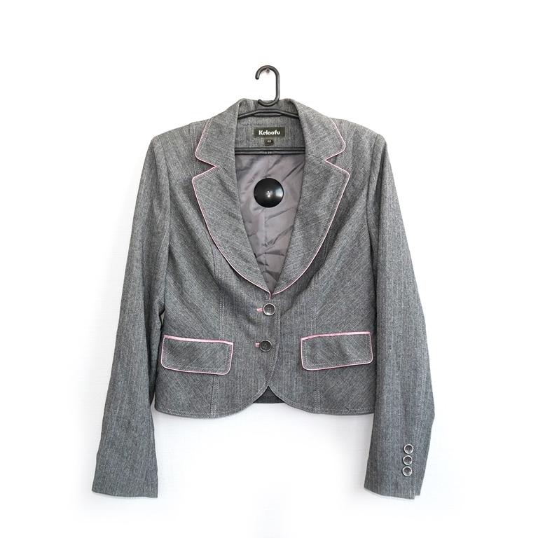 Женский серый пиджак в Челябинске