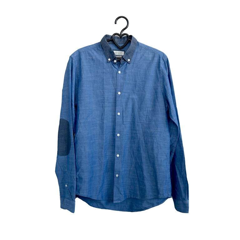 Мужская рубашка голубая в Москве