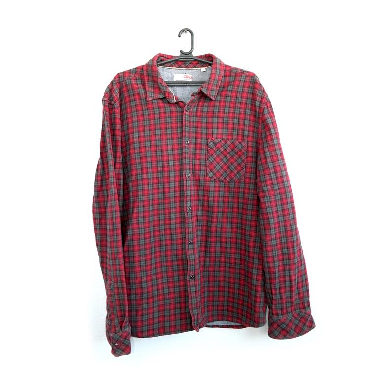 Мужская фланелевая рубашка  в Москве