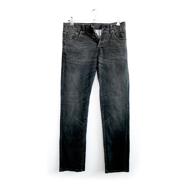 Мужские джинсы черные прямые в Челябинске
