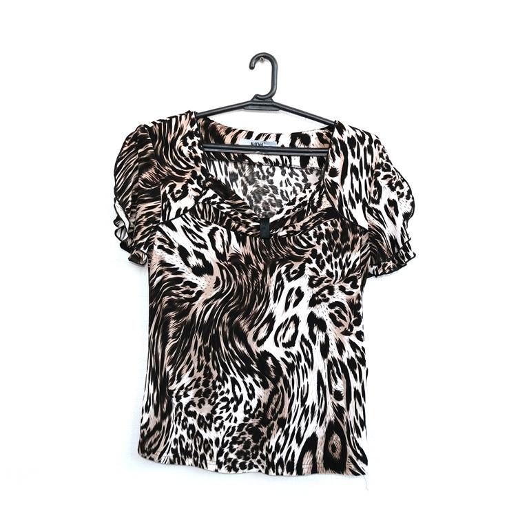 Блуза женская леопард в Москве