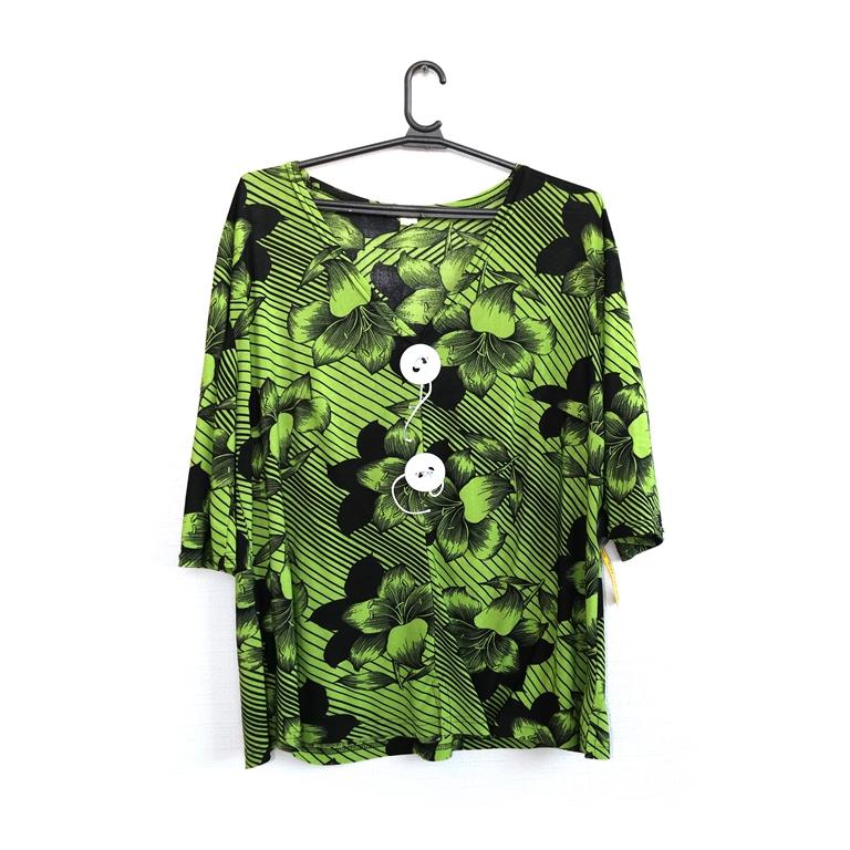 Блуза женская зеленая в Челябинске