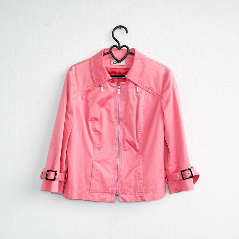 Розовая женская куртка в Москве